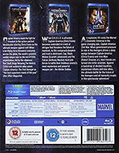 Captain America 3 Movie Collection by Walt Disney Studios Home Entertainment