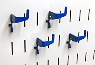 product image for Wall Control Pegboard Medium 90 Degree Slotted Hook Pack - Slotted Metal Pegboard Hooks for Wall Control Pegboard and Slotted Tool Board – Blue