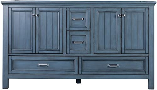 Foremost BABV6022D Brantley 60″ Vanity Washed Blue