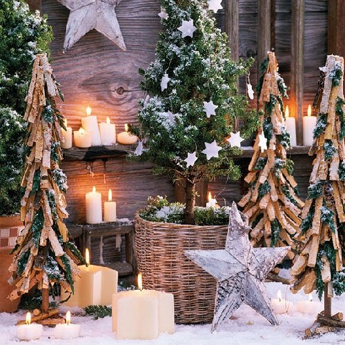 Ambiente Paper Napkins Lunch / Party / ca. 33x33cm Christmas Light - Christmas - Ideal As A Gift And Decoration
