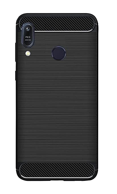 pretty nice 5417c 712b4 ZAPCASE Back Cover Case Compatible for Asus Zenfone Max M1 / Asus Zenfone  Max M1 Cases & Covers (Carbon Fiber Rugged Armor Black Color)