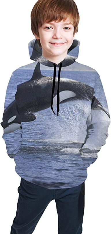 N //A Boys Winter Hoodie Sweatshirt Girls Jumper Kids Zipper Coat Cool Teen Thick Sweater 3 to 12 Years Cotton