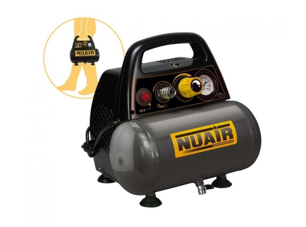 Compresor de aire NUAIR New Vento. 1,5HP 6 litros.: Amazon.es: Bricolaje y herramientas