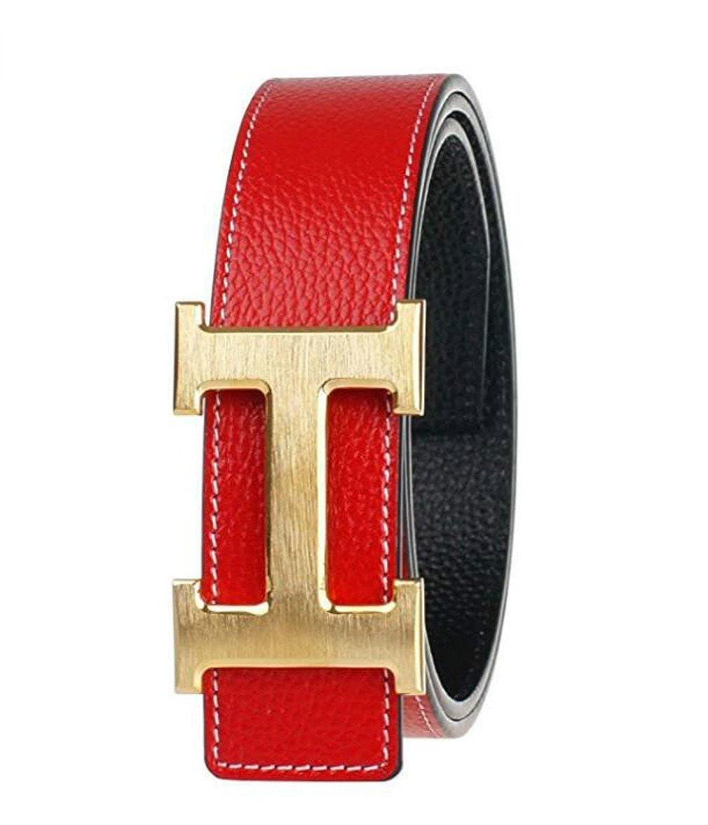 Mens boutique thick leather belt