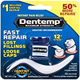 Dentemp Maximum Strength Dental Cement, 0. 07 Ounce