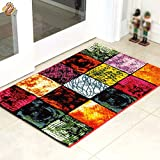 HOMEE Chinese style comfortable and durable ink ink art carpet coffee table bedroom carpet (color optional),1