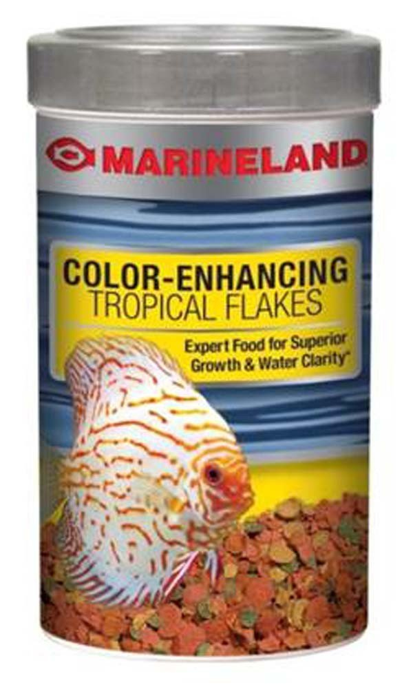 MarinelandColor-EnhancingTropicalFlakes Color 3.36oz