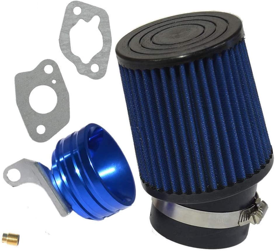 212cc Predator Performance Air Filter, Adapter & Upgrade Jet- BLUE