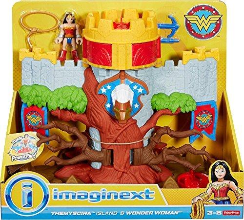 Fisher-Price Imaginext DC Super Friends, Themyscira Island & Wonder Woman