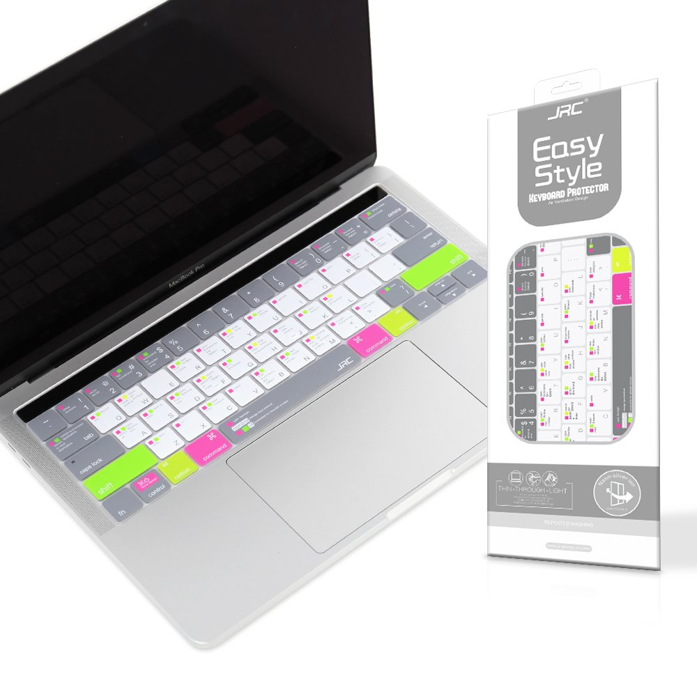 Premium Keyboard Skin,Ultra Thin Shortcut Keyboard Cover for MacBook Pro  with Touch Bar 13