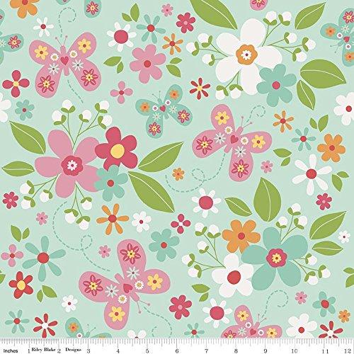 Garden Cotton Quilt Fabric - 8