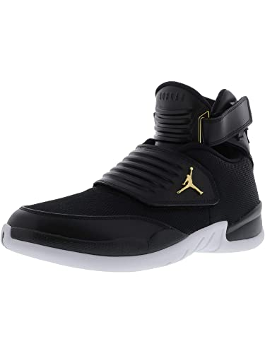 7b8603d4f9f Nike Mens Jordan Generation 23, Black/Black-White-Metallic Gold, 8.5