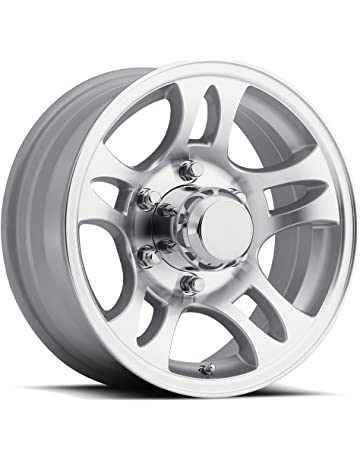 amazon trailer wheels automotive Antique Hubcaps sendel t03 aluminum trailer wheel with machined finish 15x6 6x5 50 139 7