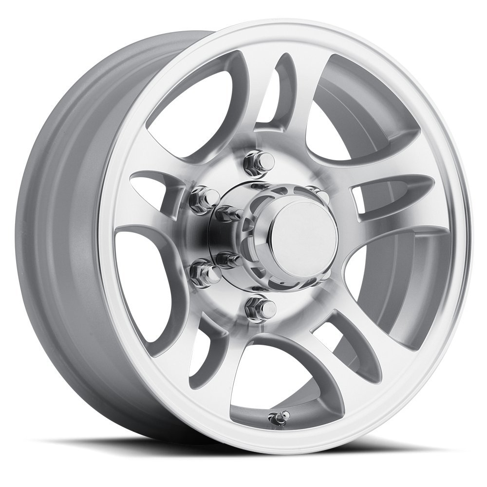 SENDEL T03 ALUMINUM TRAILER WHEEL WITH MACHINED FINISH 15X6 5X4.50(114.3)  +0 3.19