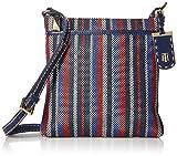 Tommy Hilfiger Crossbody Bag for Women Julia, Navy/Multi