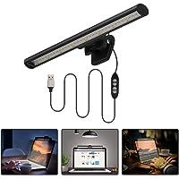 Lámpara de Monitor para Ordenador portátil Quntis sin Brillos en la Pantalla Luz LED para Leer y cuidar Tus Ojos…