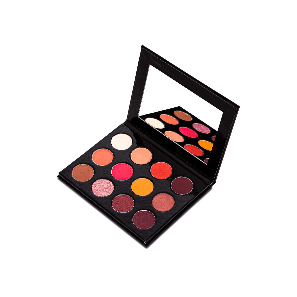 My Story Eyeshadow Palette (Outstanding Nature, Eyeshadow rose palette, pink, red, bronze, Colors of a leaf found in nature for brighten your eyes)