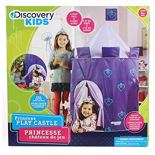 sc 1 st  Amazon.com & Amazon.com: Discovery Kids Play Tent Princess Castle: Toys u0026 Games