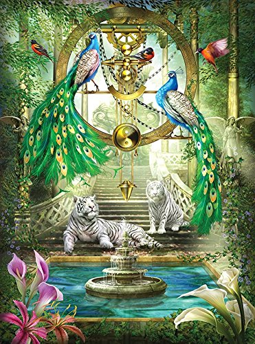 Mystic Garden Special Effect Holographic 1000 Piece Puzzle