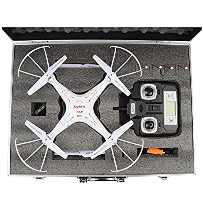Protective Box Carrying Case for Syma X5C Syma X5C-1 Quadcopter, Syma X5C Explorers, X5C Drone Helicopter, Syma X5C Spare Parts