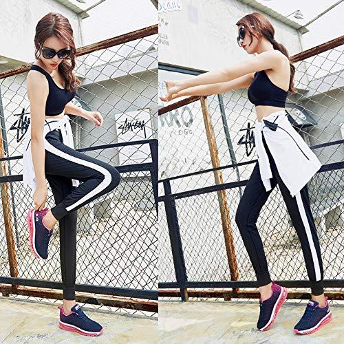 Basse Air Casual Fitness Uomo Running Interior Eu 46 Ginnastica All'aperto Donna Prugna Corsa Da Blu 34 Colore Sneakers Scarpe Sportive Bv5Avw