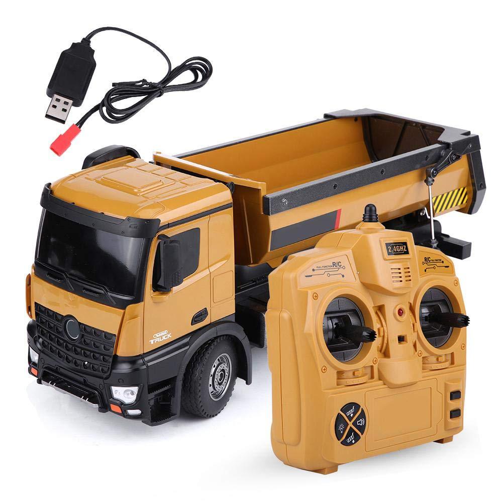 V GEBY HUINA RC Muldenkipper HUINA 1573 Ma/ßstab 1:14 2,4 GHz RC Muldenkipper Fernsteuerung Technikfahrzeug