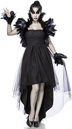 Generique - Disfraz Bruja Cuervo Mujer XXXL (46): Amazon.es ...