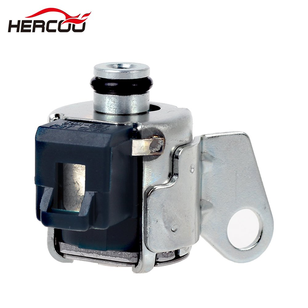 Hercoo A340e A340f Transmission Shift Solenoid Tcc 2001 Toyota Rav4 Lockup With Filter Gasket Kit Compatible 2000 2004 4runner Lexus