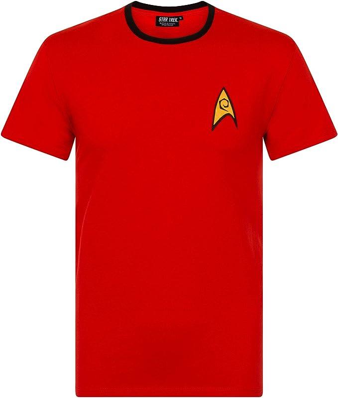 Vanilla Underground Hombres Star Trek - Camiseta