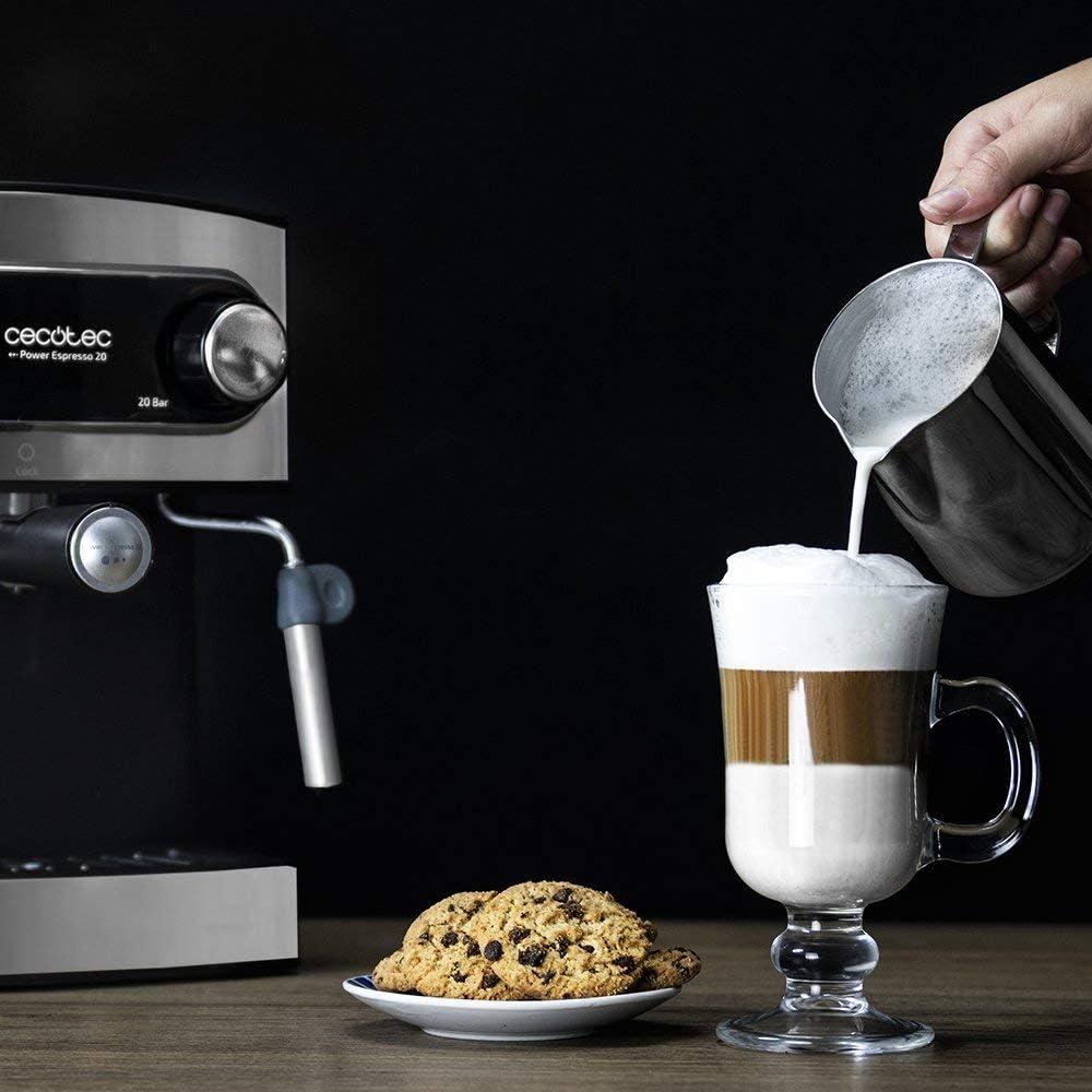Cecotec Power Espresso 20 - Cafetera Express Manual, 850W, Presión ...