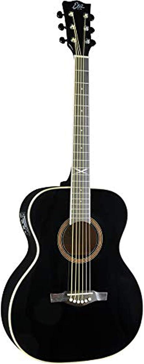 Guitarra acústica eléctrica EKO NXT 018 EQ negra: Amazon.es ...