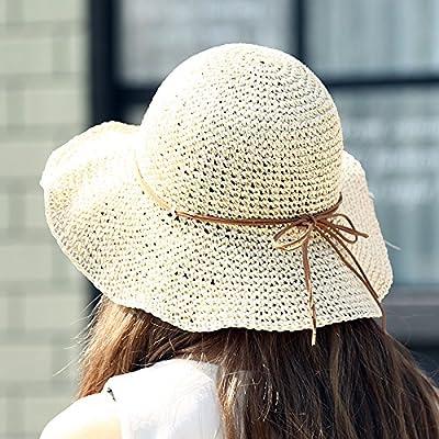 Beach hat summer sport féminin chapeaux outdoor leisure fashion chapeau de soleil chapeau pliable, tous les codes, beige
