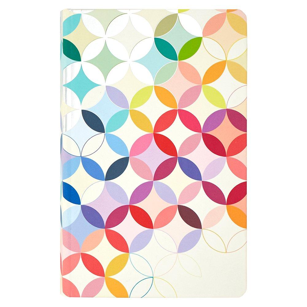 Erin Condren Hardbound LifePlanner, 2017-2018 Midcentury Circles Colorful, 5x8 by Erin Condren