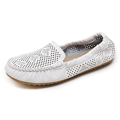 Aisun Femme Simple Coutures Chaussures Plates Mocassins