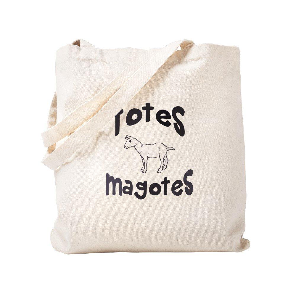 CafePress – Totes Magotes – ナチュラルキャンバストートバッグ、布ショッピングバッグ S ベージュ 1256021918DECC2 B0773TQ164 S
