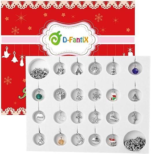 Christmas Calendar Countdown 2020 Amazon.com: D FantiX Jewelry Advent Calendar for Girls 2020