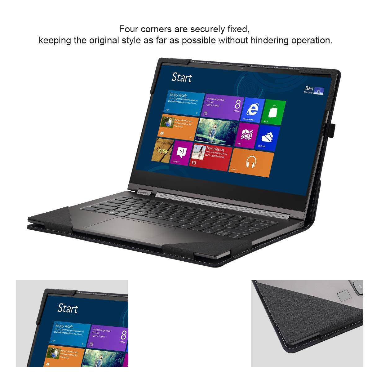 Amazon.com: Forubar - Funda rígida para Lenovo Yoga C930 de ...