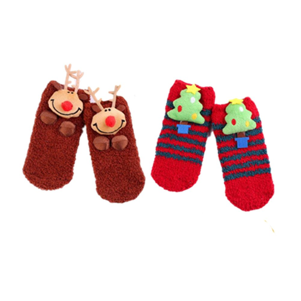 3D Weihnachten Socken, Stillshine - Childrens Baby Boy oder Mädchen ...