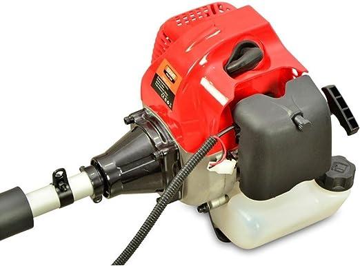 Desbrozadora Gasolina de 62cc Barra Divisible con 2 discos y ...