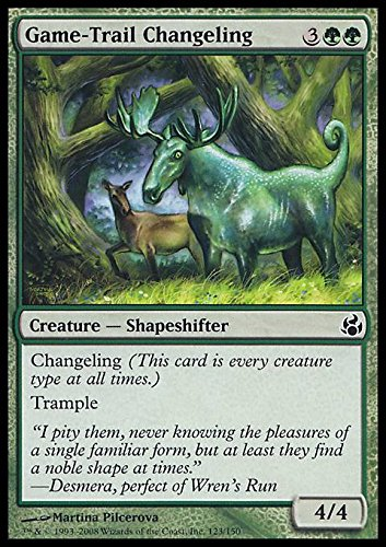Amazon.com: Magic: The Gathering – game-trail Changeling ...