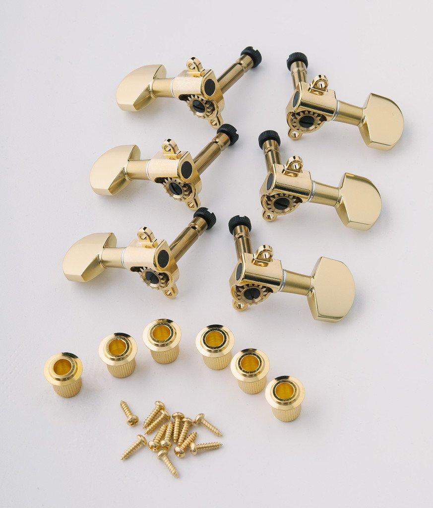 PRS Guitars Phase III Locking Tuner (set of six), GOLD