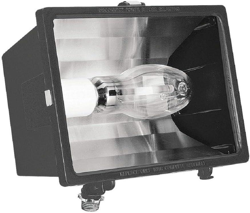 Lithonia Lighting 2-Lamp Outdoor Black-Bronze Flood Light