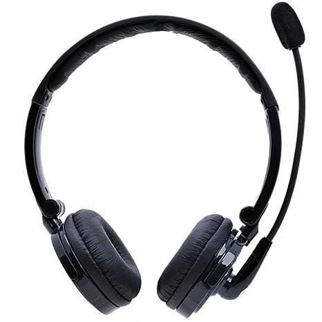 Bluetooth Headset,YAMAY Wireless Headset Over the Head mit Mikrofon,Noise Cancelling Stereo Bluetooth Kopfhörer Faltbare drah
