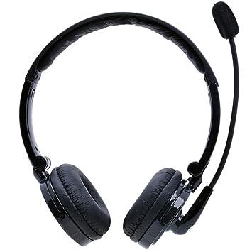 YAMAY® Bluetooth Auriculares por Encima de la Cabeza, Auriculares Inalámbricos Manos Libres con Micrófono