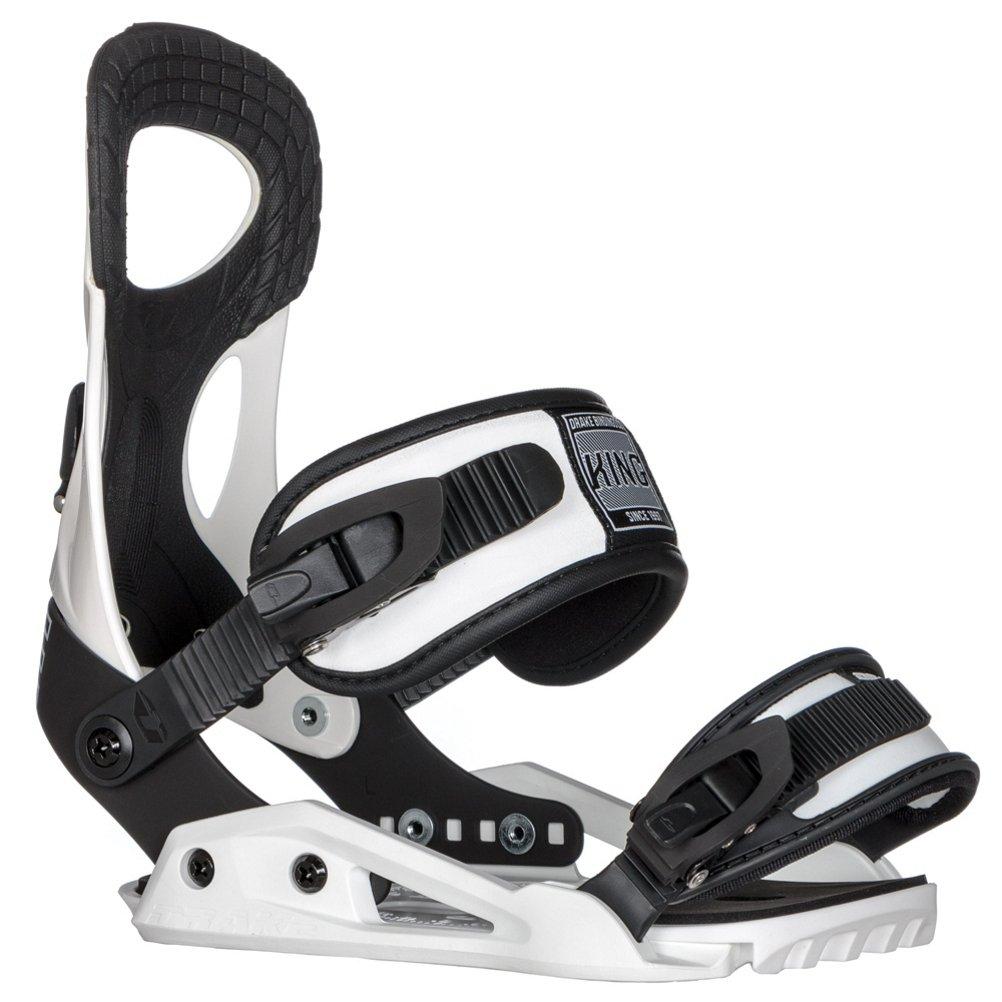 DRAKE Men's Snowboard bindings KING white by Drake
