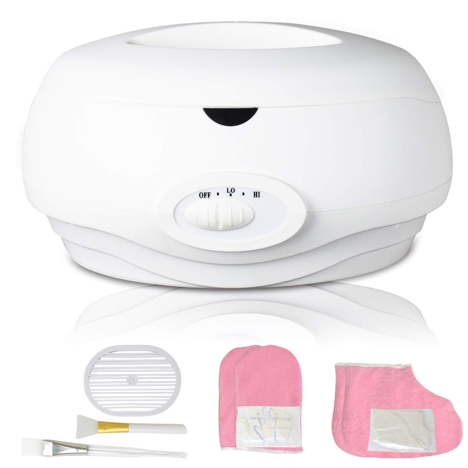 K-Salon Paraffin Wax Machine Paraffin Bath Quick Heating Wax Warmer for Hand and Feet