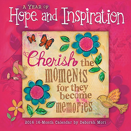 A Year of Hope and Inspiration 2016 Wall Calendar