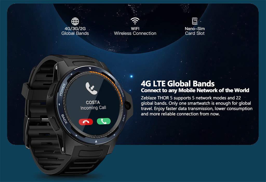 Zeblaze Thor 5 1,39 en AMOLED podómetro pulsómetro GPS BT4.0 ...