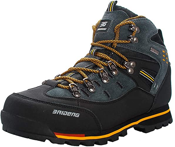 Yaer Men Hiking Boots, Waterproof