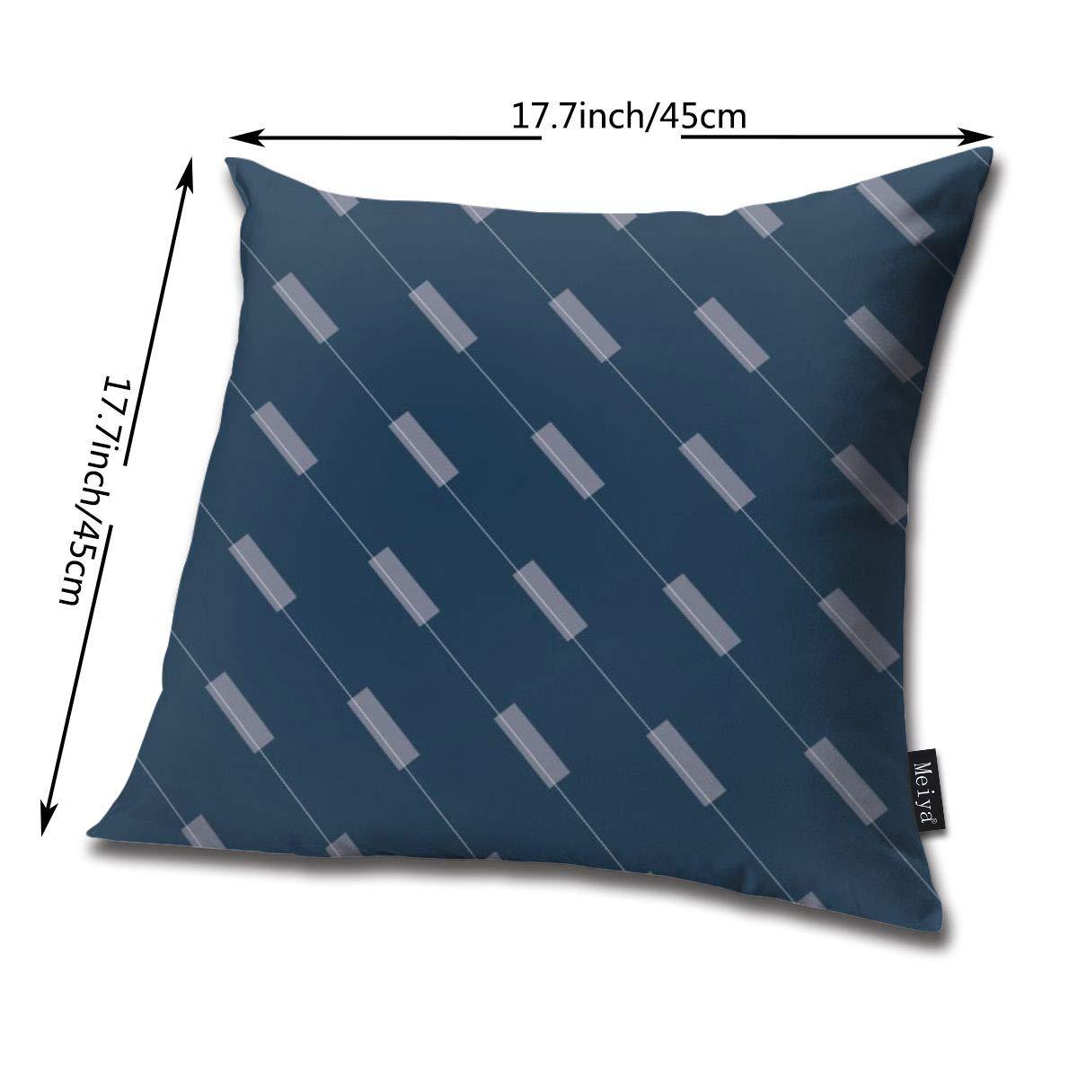 Amazon.com: Brecoy Bauhaus Lines Throw Pillow Cushion Cover ...